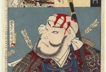 Yamamoto Kansuke by Kunichika (1835 - 1900)