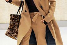 Camel Trend / Beige and camel colour outfits