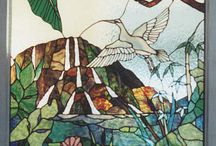 Stained Glass - Nature themes / Original stained glass designs by LightGarden Glass Art.