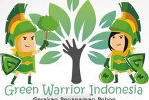 Green Warrior Indonesia / Green Warrior Indonesia merupakan gerakan penghijauan sekaligus Investasi-Bisnis anti rugi dengan modal minim-hasil maximal. Memberikan manfaat berkelanjutan dalam penanaman pohon yang didukung oleh tenaga profesional,teknologi terbaru