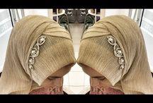 Hijab Pesta Variasi Swarosky