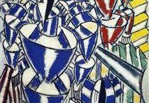 kubismus francouzský - ostatní / Albert Gleizes  FR a Jean Metzinger FR ; tři bratři - Jacques Villon FR , Marcel Duchamp FR, Raymond Duchamp-Villon FR, Fernand Léger FR (tubismus), Robert Delaunay FR (orfismus), Francis Picabia FR/SP Roger de La Fresnaye FR, Louis Marcoussis PL, František Kupka CZ