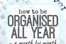 Organization (with Planner & Journal)