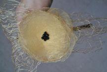 diademas y coleteros / Diademas grandes, pequeñas, hechas con fieltro, cintas, telas, botones, etc......