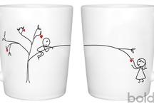 Hrnky a kreslena keramika