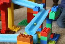 Building and Construction Play / Toys, materials and supplies to support emerging engineering and problem-solving concepts in our young children.