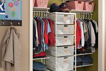 wardrobe organizing