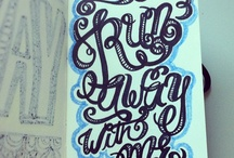 Lettering / by Dawny Christien