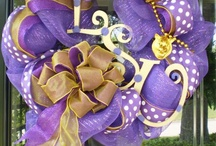 My Southern Style / LSU New Orleans Saints Mardi Gras / by diggingwithDana