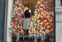 Christmas shopping windows