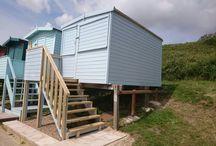 B e a c h H u t s / I build, repair and renovate beach huts.