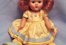 Vogue Ginny Dolls/ 1950's / by Vicky Schipitsch