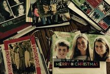 Christmas card ideas / How to save and view Xmas cards / by Lisa Lamason
