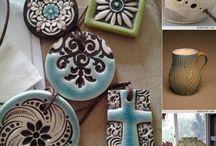 Joyeria Ceramica / Colgantes