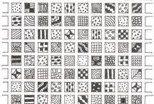Zentangle / Zentangle drawing ideas and inspiration.