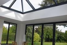 Sky light and bi-fold doors