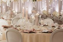 Shining glamour wedding