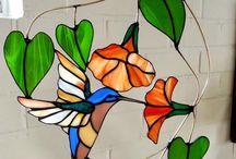 Mosaicos y vidrieras / Recopilación de mosaicos y vidrieras realizados por restauradores.