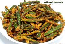 Kurkuri Bhindi/Okra / Recipes of home style Indain food #IndianFood #IndianRecipes #HindiRecipe