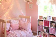 Toddler/girls' room makeover princesses / by Nichole Jones