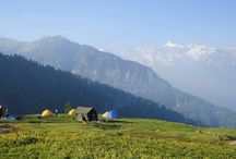 Deotibba Base & Hampta Pass Trek / Hampta Pass is one of the most delightful trek in the Manali region. This #trek takes you over the majestic foothills of the Himalayas, the Pir Panjal Range, crossing at Hampta Pass (4270m) to reach remote. Hampta pass offers scenic views of lush green valleys, towering snow-clad mountains and hills. Leaving the #Manali valley, the trek proceeds through forests of walnut, oak, the occasional alder and meadows to reach the base camp of DeoTibba.