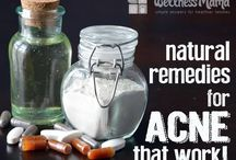 Natural Skin Care: Acne, Eczema, Etc / Natural treatments and supplements to help skin conditions