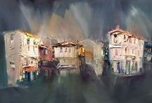 painting about Balchik