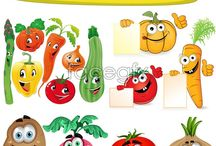 ovocie, zelenina