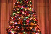 Color christmas trees