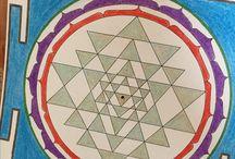 Sri Yantra Painting Class / Мастер-класс по арт-медитации