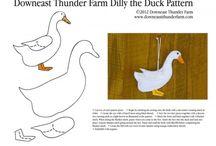 Duck felt
