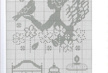 cross stitch - Point de croix