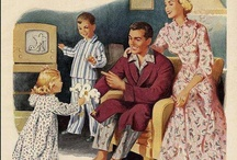 ~ Vintage lifestyle ~ / Family, children and housewifes; cuteness overload ♡