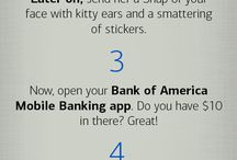 Friends Again / Both owing money and being owed can put a strain on your friendships. It's easy to settle up with the Bank of America Mobile Banking app. Friendships last forever, but debts don't have to.