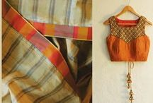 Lovely Saree Blouse Design