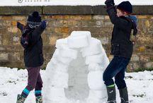 Montessori iarna / Activități de iarnă pentru copii, atât în interior, cât și în exterior. Iarna are puteri magice în copilărie! :)