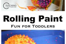 Easy Toddler Activities / A collection of easy toddler activities!