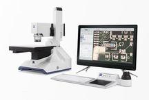 Mikroskope / verschiedene Mikroskope von Stereomikroskopie bis motorisiert.