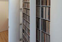 CD's opbergen