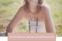 Interview mompreneur / Découvrez le parcours de fabuleuses mompreneurs. Concilier vie perso et vie pro, les mamans au foyer qui créent leur business sont les meilleures pour cela. Lisez leur histoire. #mompreneur #mamtrepreneure #mombusiness #interview #travailleralamaison #SAHM #WAHM