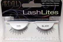 Ardell LashLites Eyelash Collection / Ardell's new LashLites are available in six lightweight and com- fortable lash styles that are perfect for a slight enhancement. Lashes so subtle they're the ideal addition to everyday makeup; LashLites fill gaps, add volume, and length to natural. Available at  https://www.madamemadeline.com/online_shoppe/products.asp?cat=Ardell+LashLites+Lash+Collection
