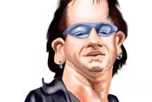 Musician Caricatures / by Geert Peeters