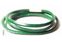 ARM003 / Fashion inspiration for our Green Leather Wristband: http://www.mightygoodman.nl/nl/english-fashion-leren-wrap-armband-groen.html