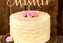 cake topper/ケーキトッパー / ウェディングケーキの上をおしゃれに飾るケーキトッパーを集めてみました。手作りできるものから、遊び心が楽しいものまで!ぜひ参考にしてね☆