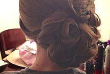 Natasha wedding hair
