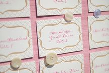 Wedding Reception Decor  / Thanks to our clients - most of these pins come from their inspiration!