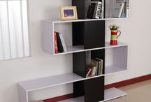 Furniture Storage Unit Modern Wooden Bookcase Shelf Cupboard Sideboard Top Stand