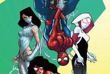 hanging spiderman