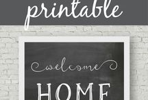 Printables / Free digital prints, digital art, free printables, wall art, inspirational quotes, printables, art, digital downloads