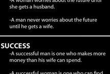 So, so true! / Men & Women thoughts